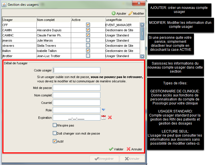 gestion usagers 2